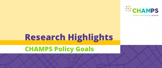 Image for CHAMPS Research Highlights for Policy Playbook