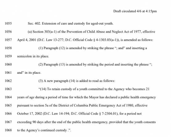 image of page 46 of emergency legislation
